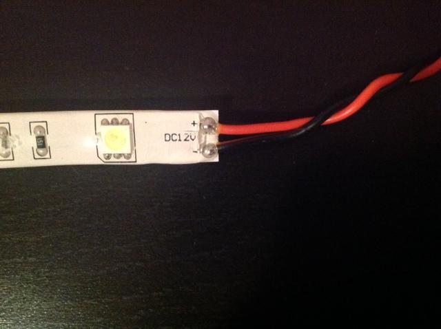 LED svetlá pripojiť